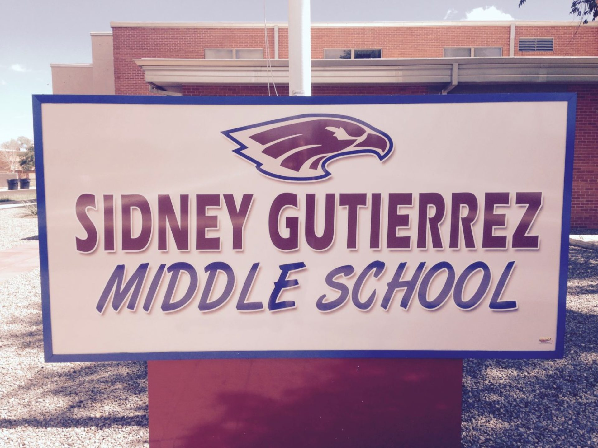 Sidney Gutierrez Middle School Logo